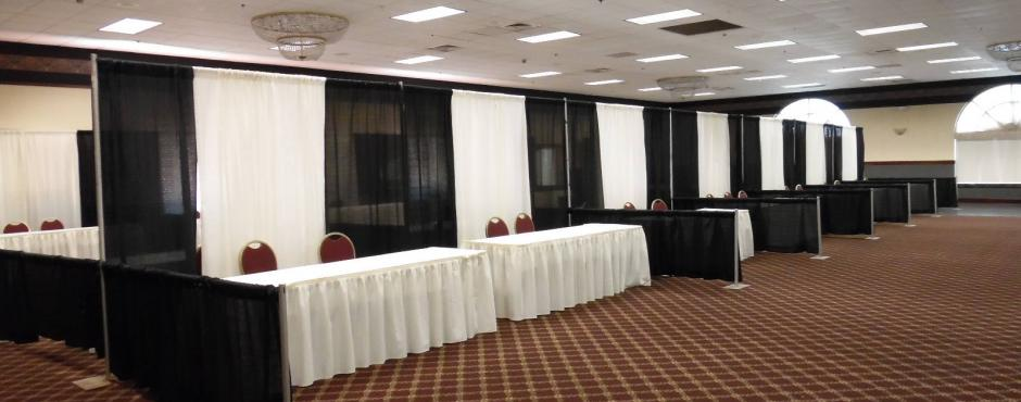 Space for 66 booths for you trade show!
